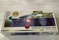 Star Trek The Next Generation - Interactive VCR Board Game Klingon Challenge
