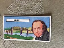 a34 trade card lyons maid famous people no 39 brunel