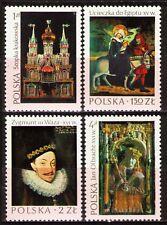 Poland 1974 Sc2066-92346-9 4v mnh Masterpieces of Polish art