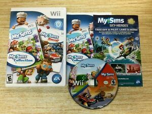 My Sims Collection My Sims & My Sims Racing (Nintendo Wii, 2010)