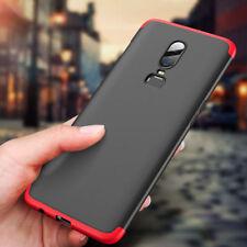 For OnePlus 6 5T 360° Full Coverage Hybrid Shockproof Armor Hard Back Case Cover