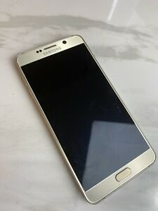 Samsung Galaxy Note 5 - Gold - SM-N920P - USED - Locked - 32GB - Smartphone