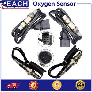 4pcs Oxygen O2 sensor 1& 2 for 2002-2005 BMW 745i 745Li 4.4L Upstream+Downstream