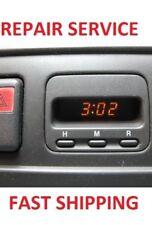 97 98 99 00 01 Honda CRV CR-V Clock REPAIR REBUILD