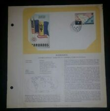 Fdc Barbados - 1976 U.S. American Bicentennial With Jacket