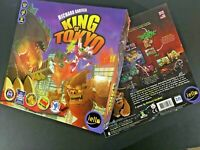 King Of Tokyo 1st Edition Replacement Pieces & Parts Monsters Dice Tokens Cards