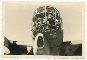 Foto Aufklärungsgruppe 121 Ju 88 Flugzeug 7A+XH Cockpit Tatoi Griechenland 1941