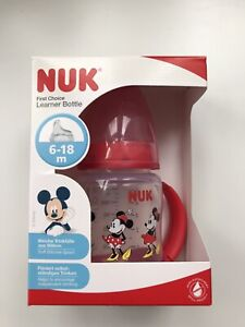 NUK Disney First Choice Learner Bottle 150mL Minnie Mouse - Brand New