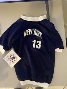 "Alex Rodriguez NEW YORK YANKEES Dog Mesh Jersey Shirt Small Pet L 28-34"" New"
