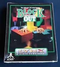 BLOCKOUT Atari LYNX New Sealed Complete