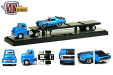 M2 MACHINES 1:64 AUTO-HAULERS - 1956 Ford C-500 COE & 1970 Ford Mustang BOSS 302