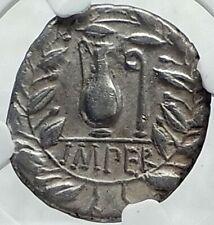 Roman Republic 81BC IMPERATOR GENERAL of DICTATOR SULLA Silver Coin NGC i78538