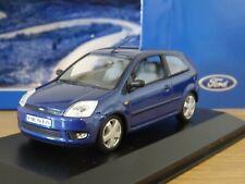 MINICHAMPS FORD FIESTA MK5 BLUE 2002 3 DOOR CAR MODEL 403 081125 1:43