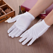 Hot 1 Pairs High Quality Forchette White 100% Cotton Gloves Inspection Gloves XL