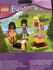 Lego Friends 853556 Mini-Doll Campsite Set: 3 Figures BBQ Campfire NEW Shipfree