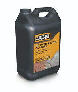 Path and Patio Cleaner JCB 5L Concentrate, Removes green algae and mould