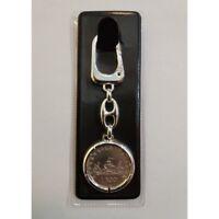 Porte-Clés avec Monnaie en Argent - Livres 500 Série Caravelle - Diamètre 29,5