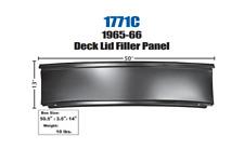 1965-66 Chevrolet Impala Rear Deck Lid Filler Panel New Dii