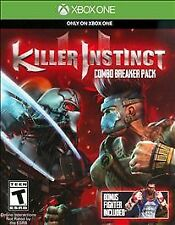Killer Instinct Combo Breaker Pack XBOX ONE Brand New Factory Sealed w/Bonus!