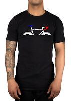 Tour De France NEW 2015 Logo T-shirt Bike Racing Cycling Clothing Mens Unisex