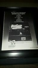 Bee Gees Mr. Natural Rare Original Promo Poster Ad Framed!