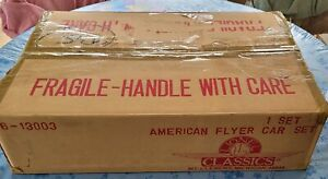 Lionel 6-13003 Standard Gauge American Flyer Mayflower Chrome Passenger Set+_OBS