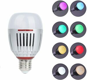 Aputure Accent B7C 7W RGBWW Smart Light Bulb CRI 95+ Sidus Link App AC Power