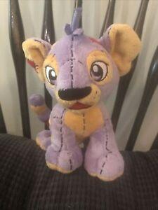 Rare plushie kougra plush neopets Purple Rag Doll