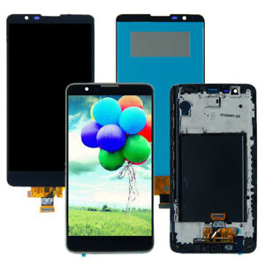 CA For LG Stylo 2 LS775 K540 L82VL VS835 LCD Display Touch Screen Assembly±Frame