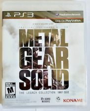Metal Gear Solid The Legacy Collection PS3 Brand New Sealed PlayStation