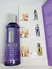 Clinique Take the Day Off Makeup Remover Full 4.2oz w 3 Step Skin Care Dry Skin