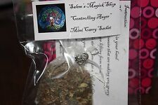 """Witch's Sachet """" Controlling Anger"""" WICCA"""