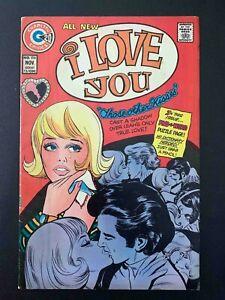 I LOVE YOU #106 CHARLTON COMICS 1973 FN+