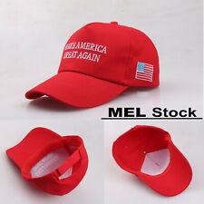 Make America Great Again Trump Hat Baseball Cap Embroidered Snapback Red