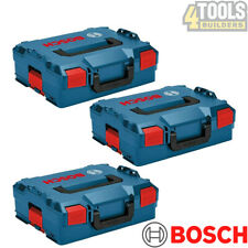 Bosch Sortimo L-BOXX 136 Storage System Stacking Case-1600A012G0 Pack Of 3