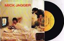 "MICK JAGGER - JUST ANOTHER NIGHT - 7"" 45 VINYL RECORD w PICT SLV - 1985"