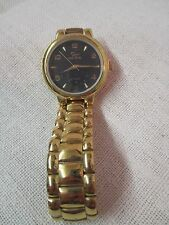 Vintage gold tone Men's Wrist Watch Oscar de la Renta Studio