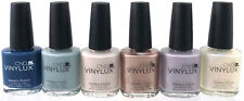 (6) CND Vinylux Weekly Nail Polish GLACIAL ILLUSION Collection Complete Set