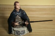 Gentle Giant The Lord of the Rings Elrond Mini Bust  w Anduril Sword LOTR Statue