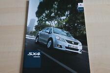 101744) Suzuki SX4 Limousine Prospekt 07/2011