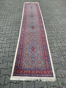 Moud aus Persien,Teppich , Läufer, Galerie ,  ca,40 Jahre alt     ca.392 x 82 cm