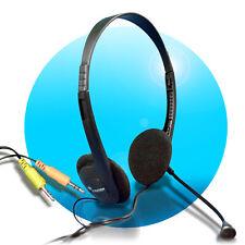 PC Over Ear Stereo Headset HE-100 flexibel 3,5mm Klinkenstecker Exxter by Hama