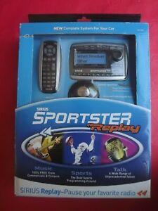 New SIRIUS Sportster REPLAY SP-R2 Radio + Vehicle Kit  pre 87.7 sp-tk2R spr2