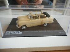 Opel Collection Opel Olympia Rekord Cabrio Limousine in Yellow on 1:43 in Box
