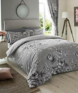 Duvet Quilt Cover New ANNIE Design Reversible Bedding Size Single Double King