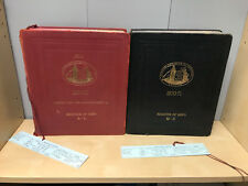 Job Lot Collection of Lloyds Register of Ships 1970-71, Complete in to Books