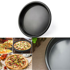 7inches Useful Round Deep Dish Pizza Pan Non-stick Pie Tray Baking Kitchen Tools