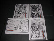 4 x Large Velvet Colouring Picture Boards & Felt Pens Kids Art & Craft FORTNITE