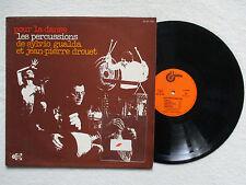 """LP 33T SYLVIO GUALDA """"Pour la danse - Percussions"""" UNIDISC UD 30 1281 FRANCE §"""