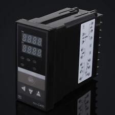 REX-C400 Dual Digital PID Temperature Controller + K Type Thermocouple
